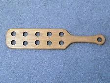 paddle bois a trou